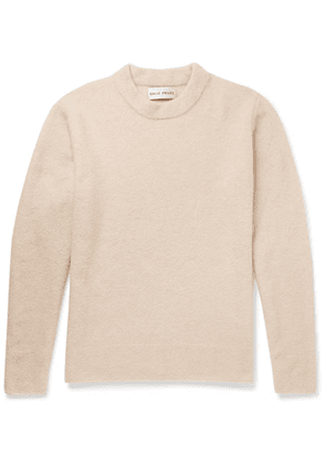 SALLE PRIVÉE - Aren Cashmere And Silk-blend Bouclé Sweater - Beige