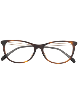 Givenchy Eyewear oval frame glasses - Brown