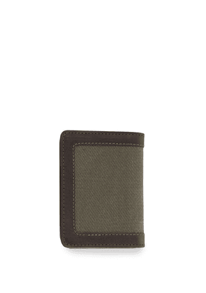 Filson rugged twill Outfitter cardholder wallet - Green