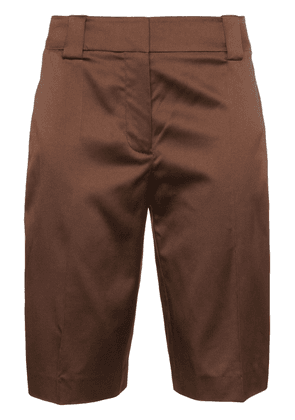 Prada knee-length shorts - Brown