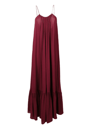 Erika Cavallini flared maxi dress