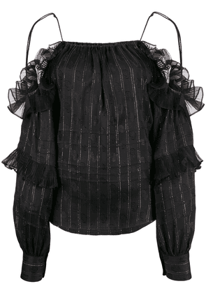 Isabel Marant Margo off-shoulder blouse - Black