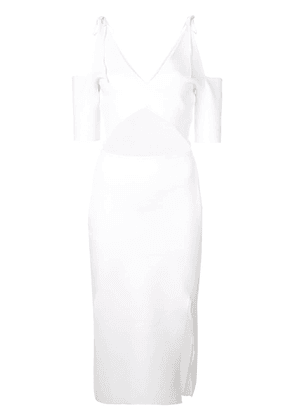 Altuzarra cut-out midi dress - White
