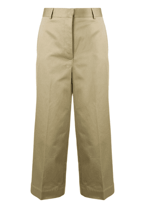 Thom Browne Low-Rise Straight Leg Trouser - Neutrals