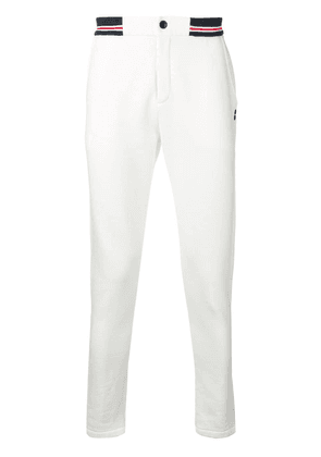 Ron Dorff tapered track pants - White