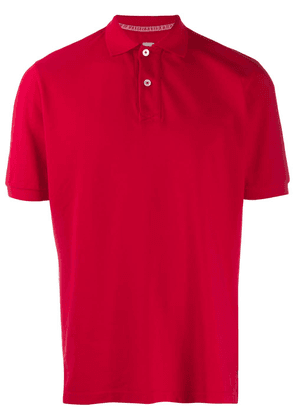 Eleventy classic polo shirt - Red