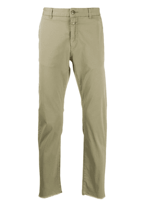 Closed classic chino trousers - Green