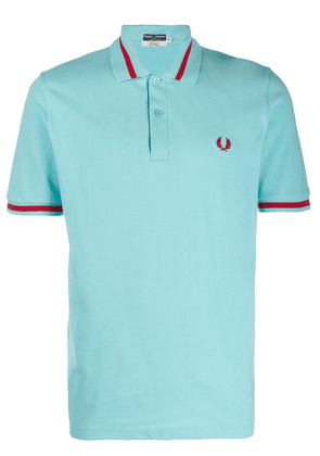 Fred Perry single tipped polo shirt - Blue