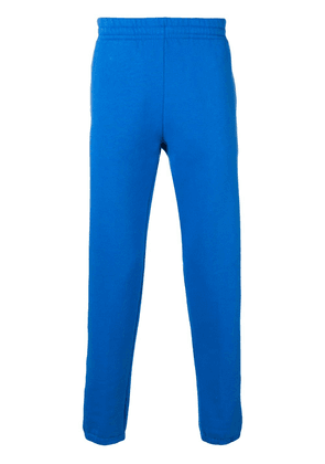 Ron Dorff piped trim track pants - Blue