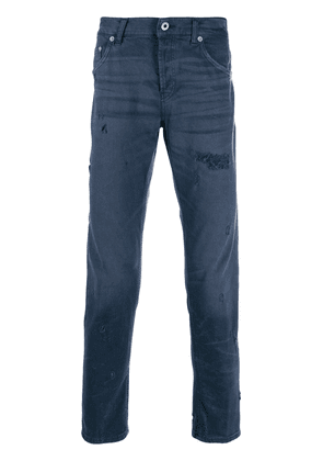 Dondup distressed straight jeans - Blue