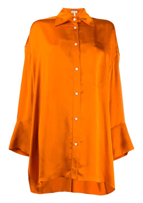 Loewe oversized shirt - Orange