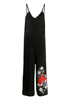 Giacobino embroidered jumpsuit - Black