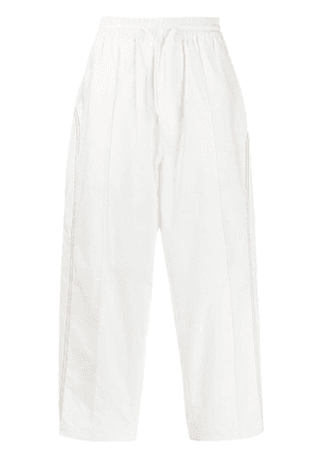 Y-3 Luxe track trousers - White