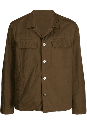 08Sircus classic buttoned jacket - Brown
