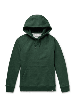 Norse Projects - Ketel Fleece-back Cotton-jersey Hoodie - Green