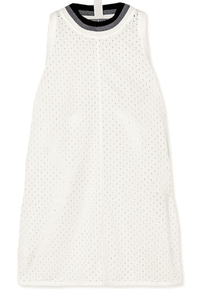 adidas by Stella McCartney - Train Climalite Mesh Tank - White