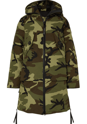 Canada Goose - Olympia Camouflage-print Shell Down Parka - Green