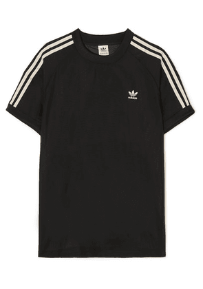 adidas Originals - Striped Organza T-shirt - Black