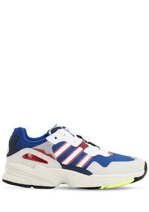 Yung 96 Mesh & Faux Suede Sneakers