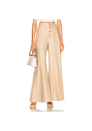 Staud Martin Pant in Neutral