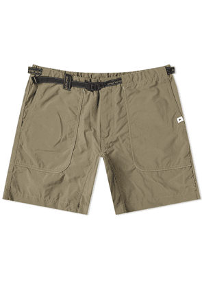 And Wander Nylon Climbing Short Khaki