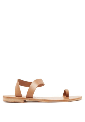 Álvaro - Angela Leather Sandals - Womens - Tan