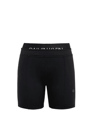 Calvin Klein Performance - Double Waist Cycling Shorts - Womens - Black