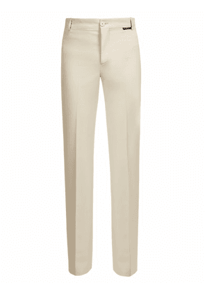 Balenciaga - Fitted High Rise Tailored Trousers - Mens - White