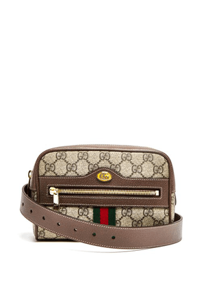Gucci - Ophidia Gg Supreme Belt Bag - Womens - Brown Multi