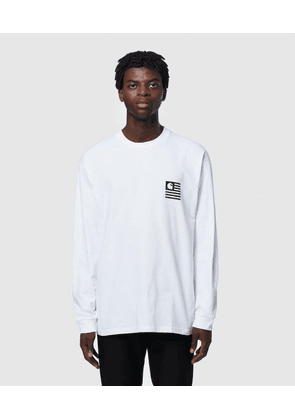 LONG SLEEVE STATE PATCH T-SHIRT
