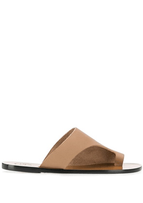 Atp Atelier Rosa cut-out sandals - Neutrals