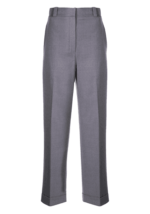 Theory tailored cropped trousers - Purple