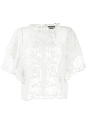 Isabel Marant Top Seal blouse - White