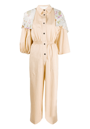 Walk Of Shame relaxed jumpsuit - Neutrals