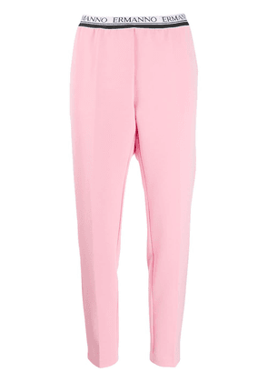 Ermanno Scervino tapered pull-on trousers - Pink