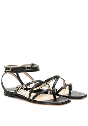 Jas leather sandals