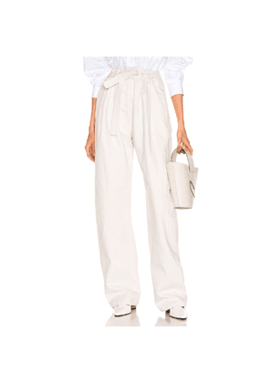 Lemaire Martial Pant in Neutral