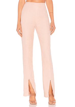 Lovers + Friends Arya Pant in Pink. Size M.