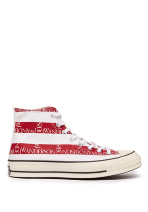 Converse X Jw Anderson - Chuck 70 Stars & Stripes Printed Canvas Trainers - Womens - Navy White