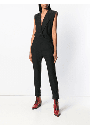 8pm Manray fitted jumpsuit - Black