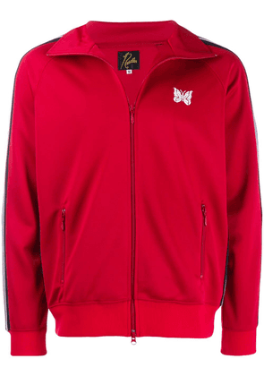 Needles striped sleeves track jacket - Red