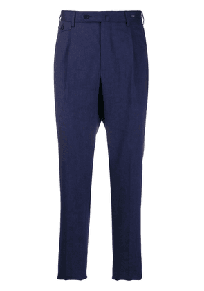 Pt01 tapered chinos - Blue