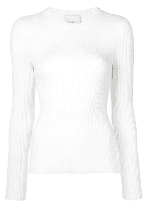 3.1 Phillip Lim ribbed knitted top - White