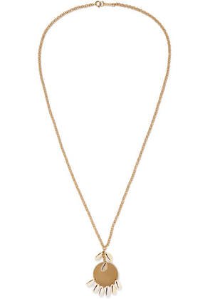 Isabel Marant - Gold-tone And Shell Necklace - one size