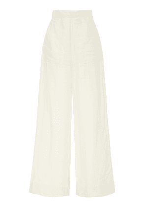 Alix of Bohemia Limited Edition Catherine Ivory Linen Trousers