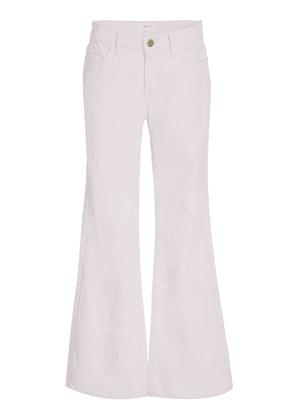 Current/Elliott Wray High-Rise Flared Jeans