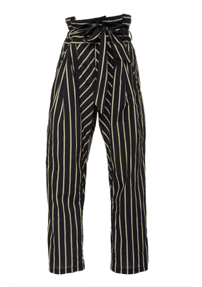 Figue Portia belted cotton pant