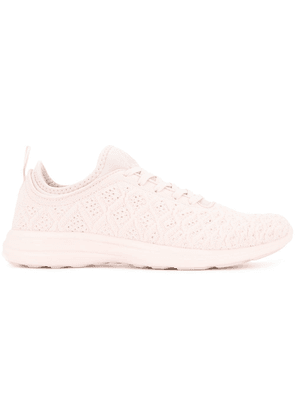 Apl TechLoom lace-up sneakers - Pink
