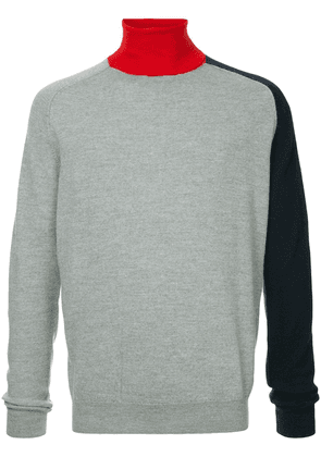 Band Of Outsiders colourblock sweater - Grey