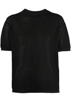 Isabel Marant Ansley knitted top - Black